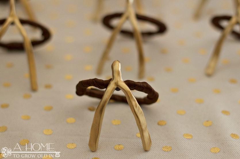 Finished Napkin Rings