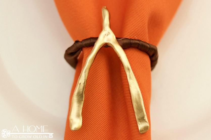 Close-up of Wishbone