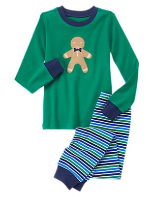 Gingerbread Boy PJs