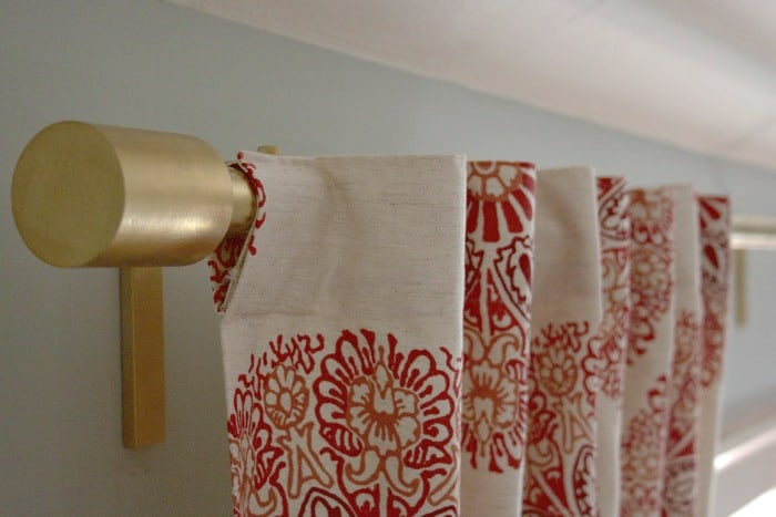 Oversized Curtain Rod
