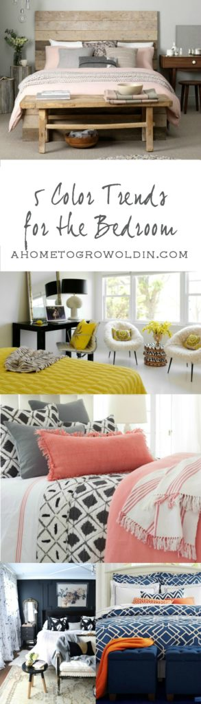 5 Color Trends for the Bedroom