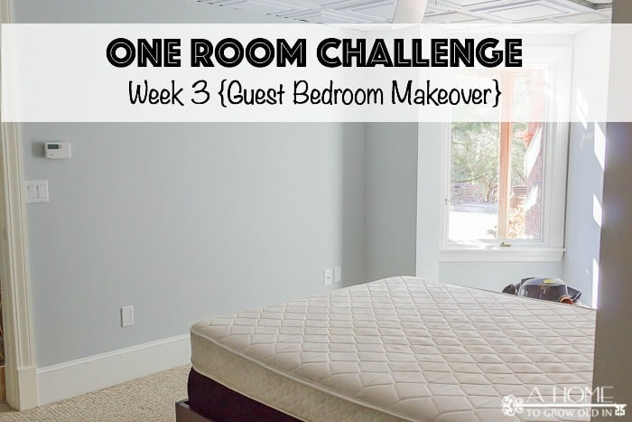 Check out our progress in Week 3 of the One Room Challenge!