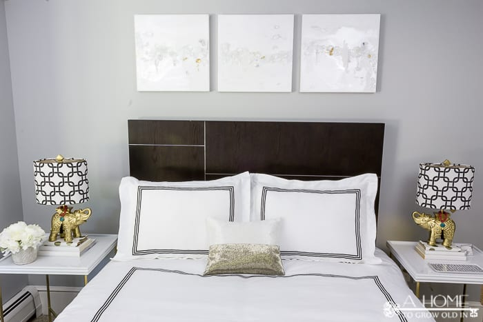 Check out the final reveal in Week 6 of the One Room Challenge and our guest bedroom makeover!