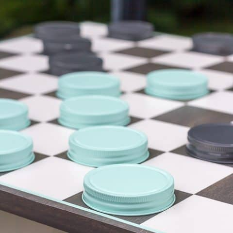 How to Make an Oversized Outdoor Checkerboard