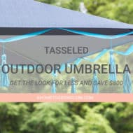 Tasseled Outdoor Umbrella