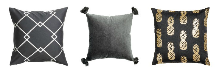 h&m pillows