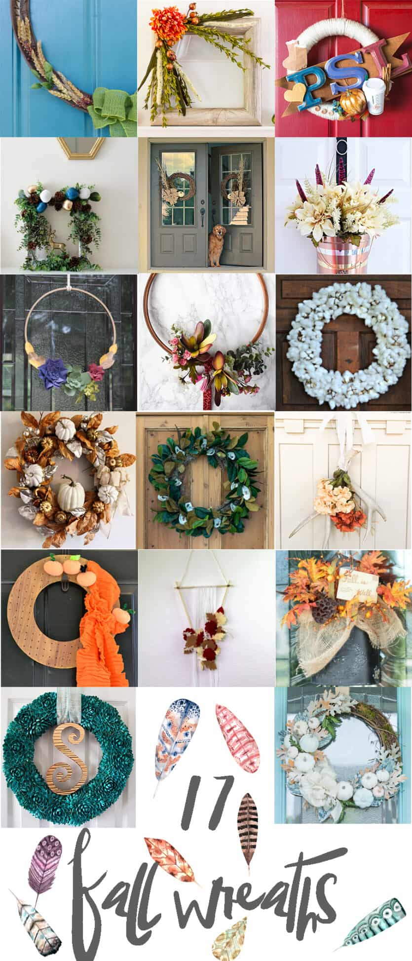 17 diy fall wreaths