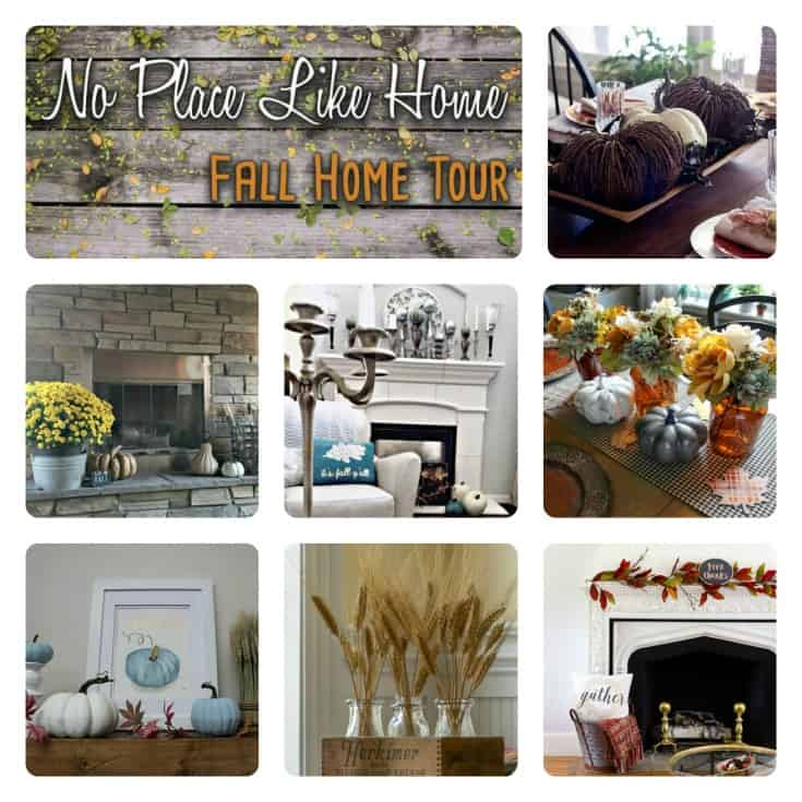 7 amazing fall home tours with 6 times the fall inspiration.