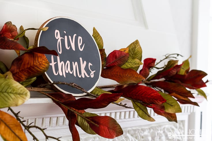 What a beautiful fall fireplace mantle! I can't get over how much great fall home decor inspiration there is here! Definitely pinning for later!