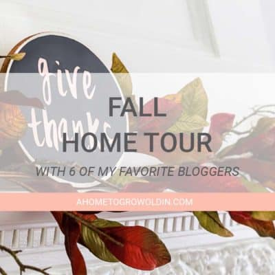 No Place Like Home – Fall Home Tour {2016}