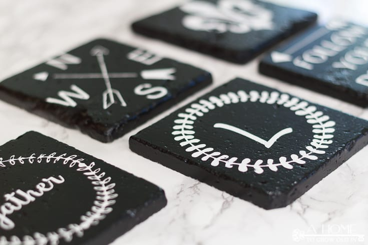 photo of DIY farmhouse coasters