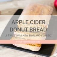 Apple Cider Donut Bread Recipe