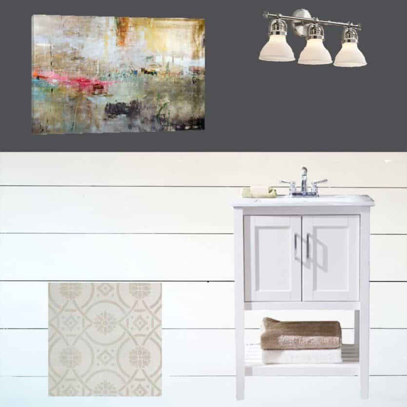 powder-room-design-board
