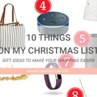 Gift Ideas- 10 Things On My Christmas List