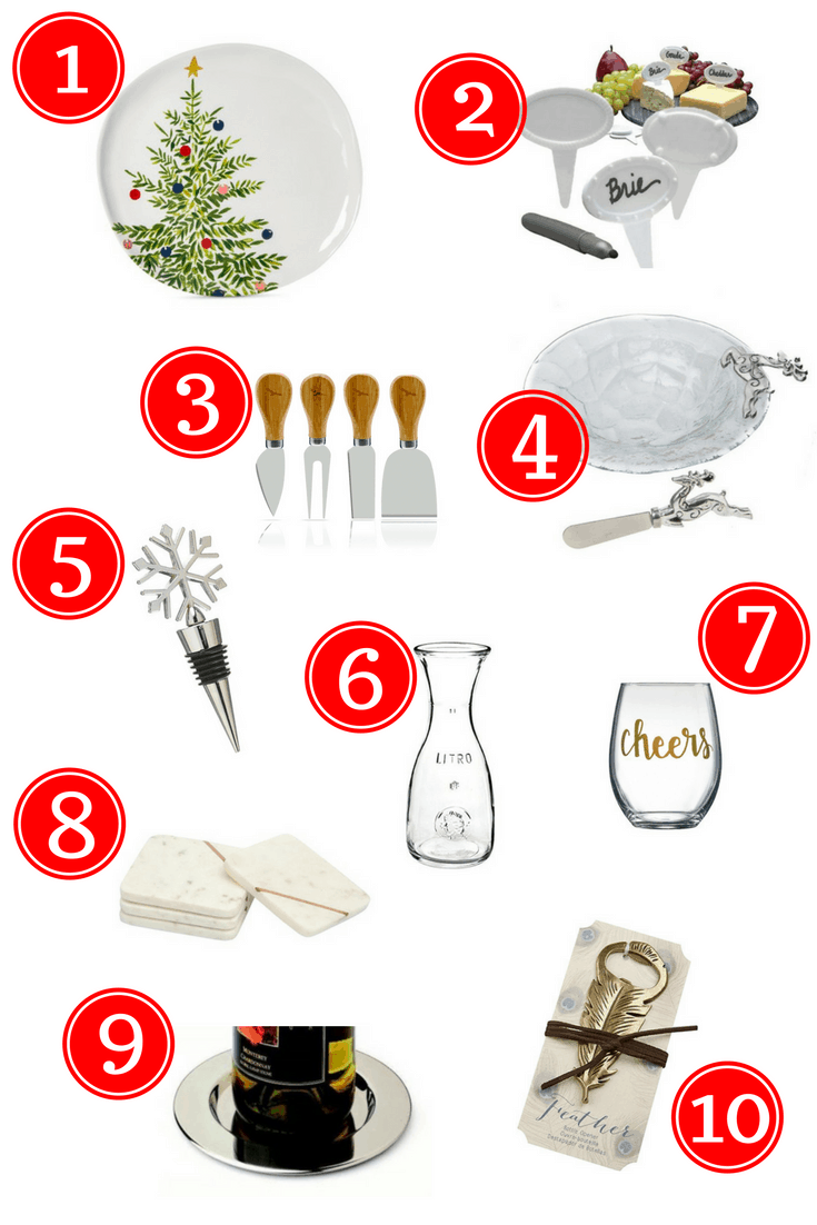 This will have you covered with 10 great hostess gifts all under $10. Order a few now, and you'll be all set for the upcoming holiday party season! They're also great for neighbor gifts!