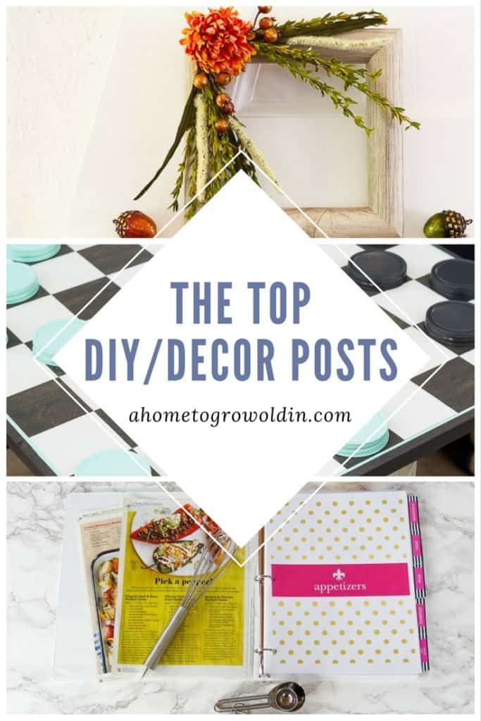 10 DIY/Decor Posts!