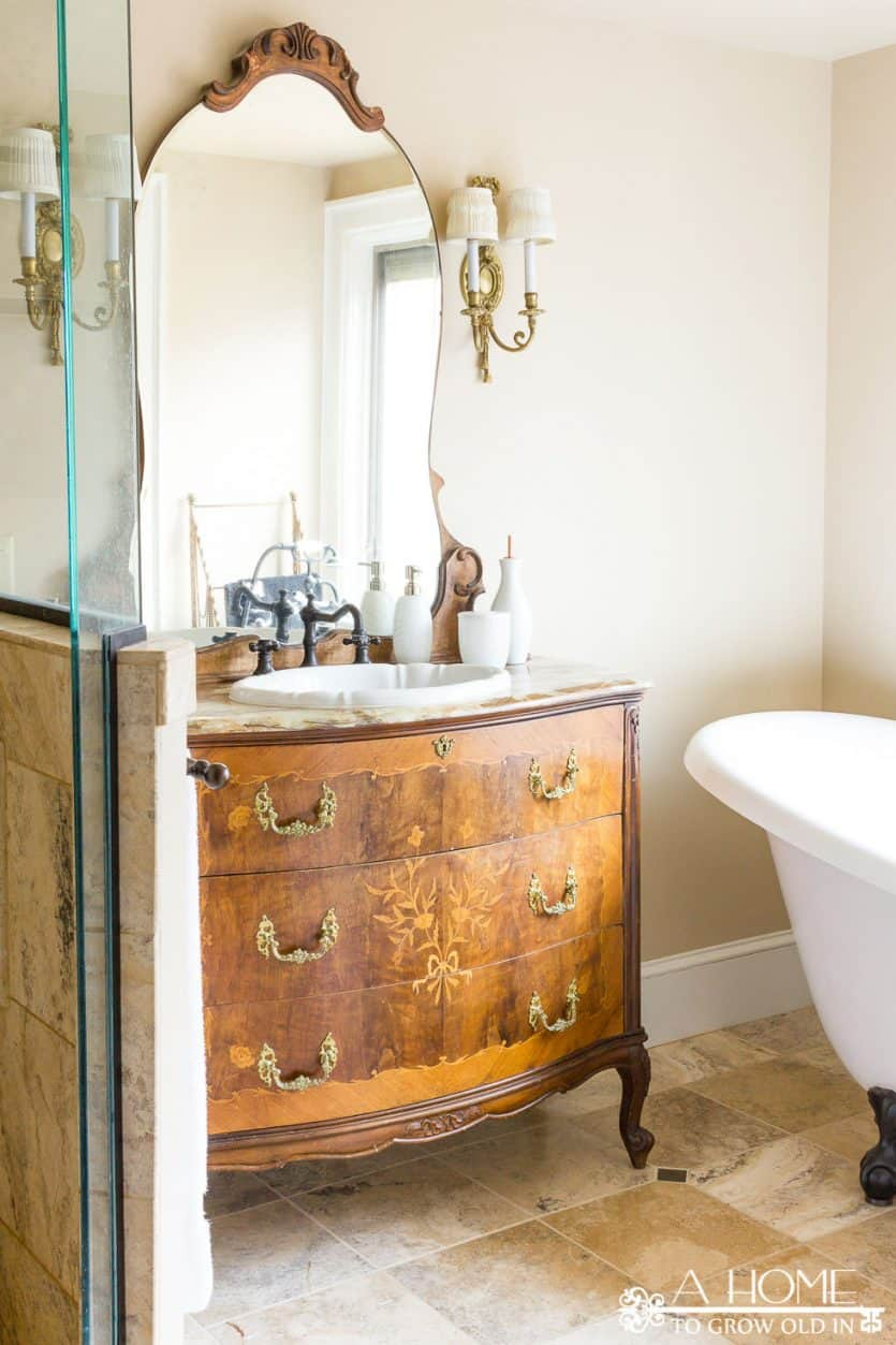 How to Organize Your Bathroom Drawers - A Home To Grow Old In