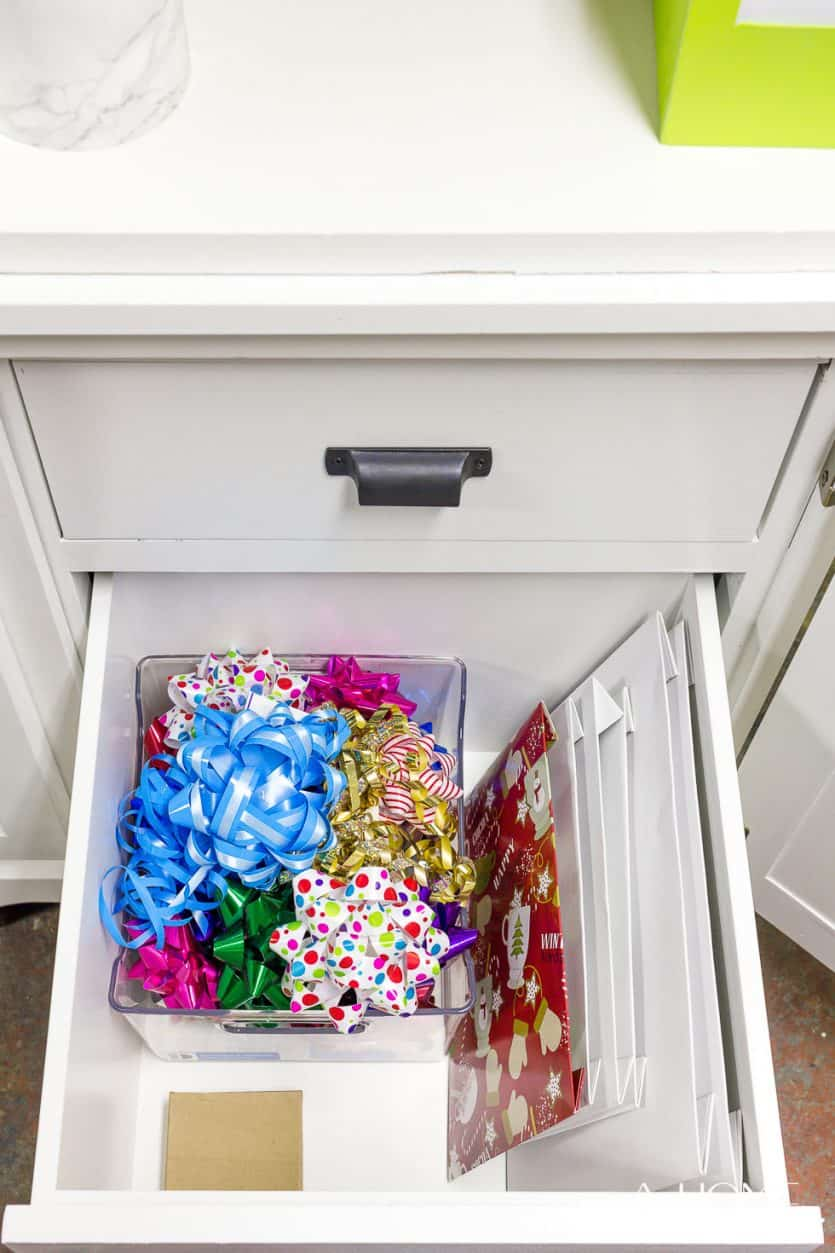 Itu0027s Easy To Repurpose An Old Armoire Into A Beautiful And Organized Gift  Wrapping Station For