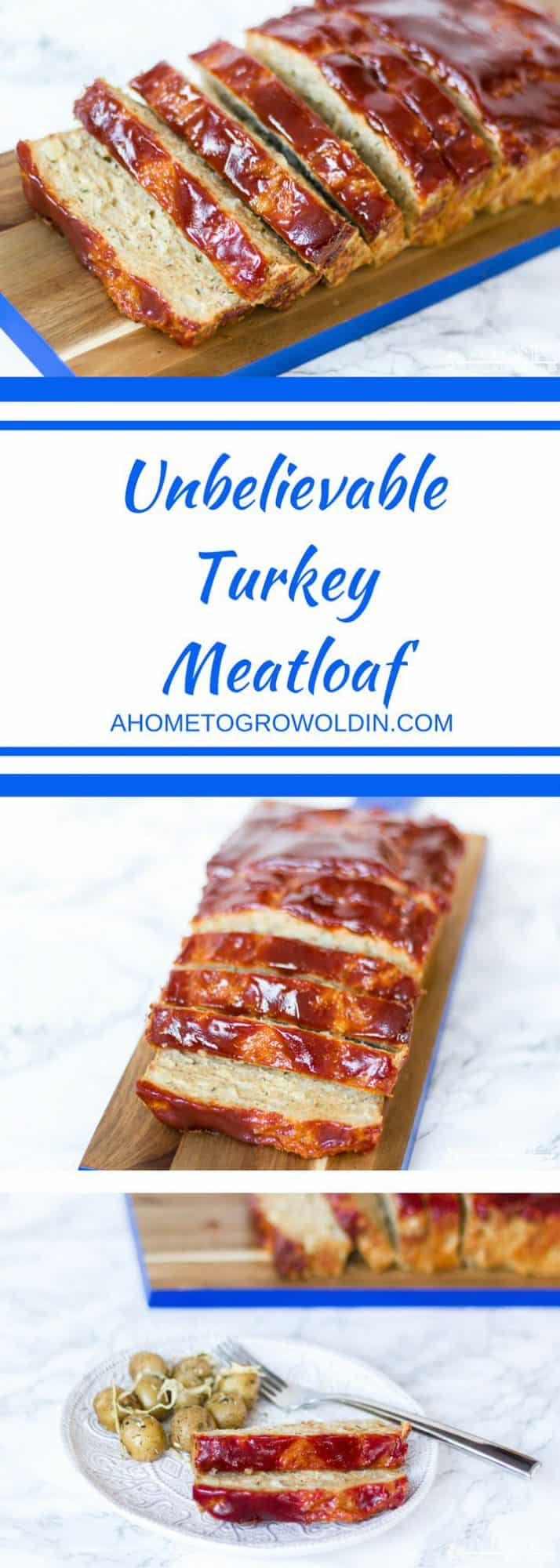 This kid-friendly turkey meatloaf recipe will be a huge dinner favorite! It's so easy and healthy! Try it tonight!