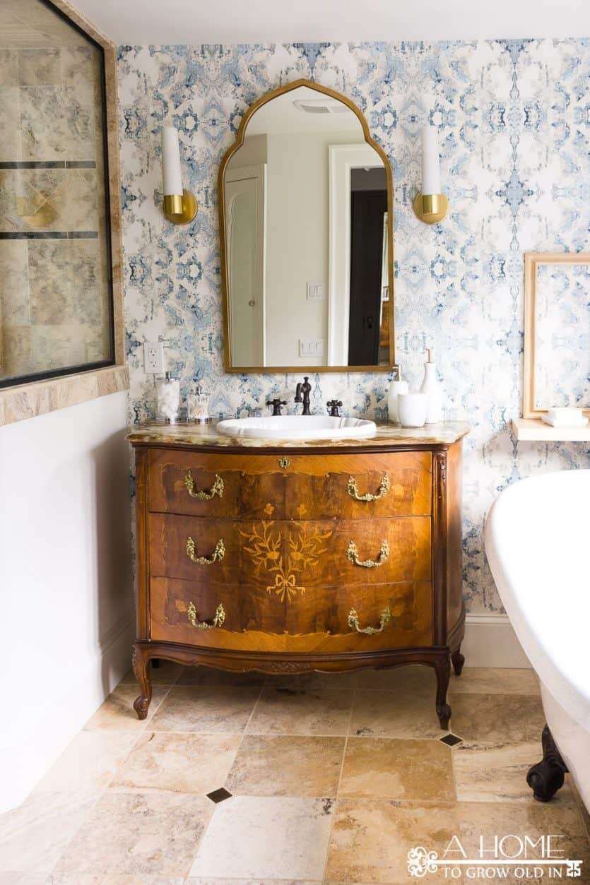 Latest Bathroom Makeovers modern master bathroom makeover reveal - a home to grow old in