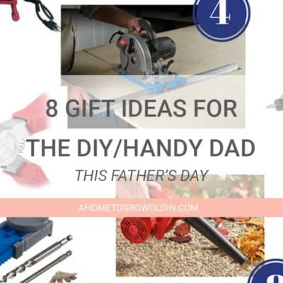 8 Father's Day Gift Ideas for the DIY/Handy Dad