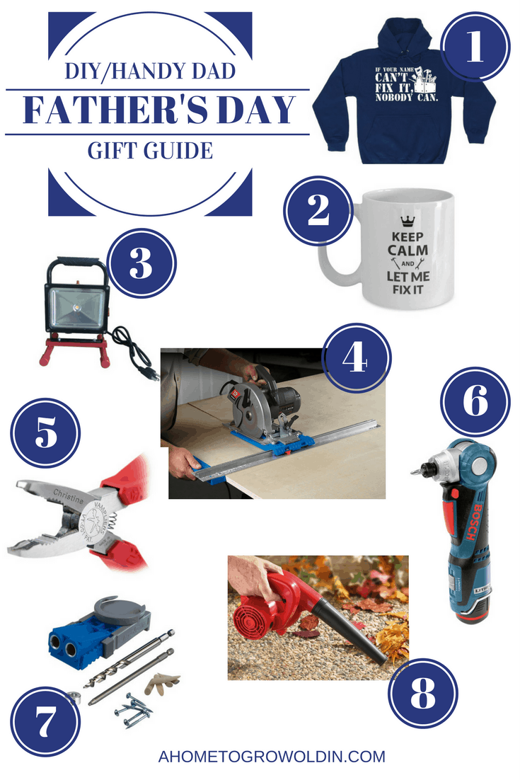 Do you have a handyman in your life? Check out these great Father's Day gift ideas for the DIY/handy dad. Shopping doesn't have to be difficult!