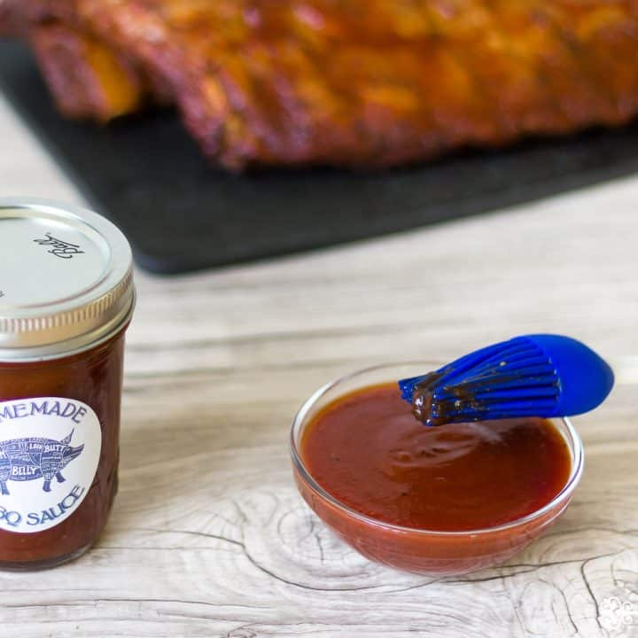 Spicy Homemade BBQ Sauce