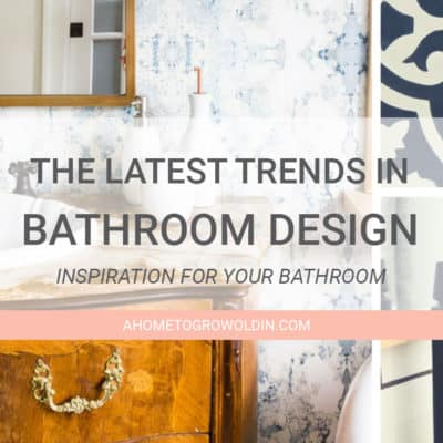 The Latest Bathroom Design Trends: LED Mirrors, Bold Fixtures & More