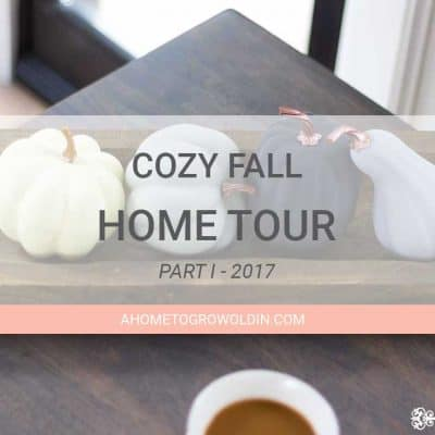 Cozy Fall Home Decor Tour 2017 – Part I