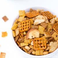 Spicy Sriracha Chex Mix- The Ultimate Party Snack