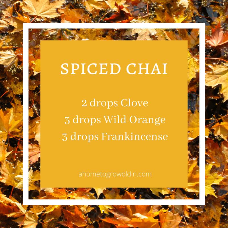 fall essential oil blends, clove, wild orange, frankincense