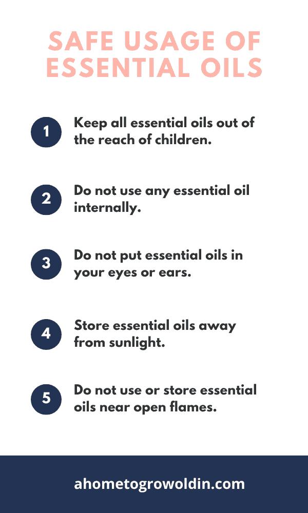 safe usage of essential oils