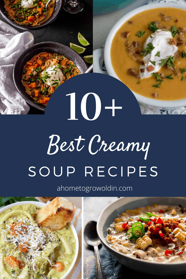 10+ best creamy soup recipes