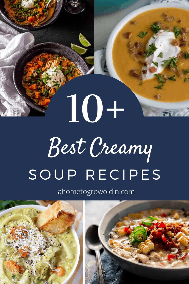 10+ best creamy soup recipes