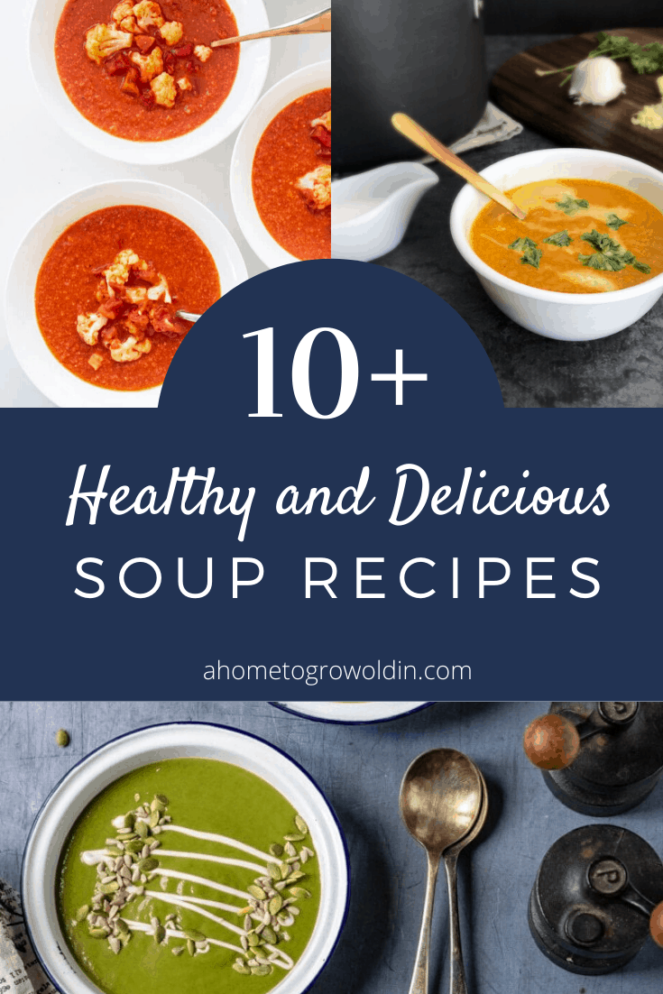 10+ healthy and delicious soup recipes