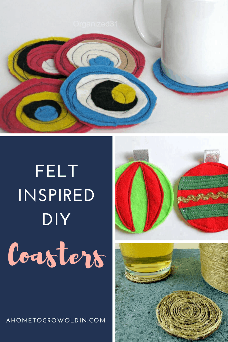 Over 35 Easy Diy Drink Coasters To Gift Or Keep A Home To Grow