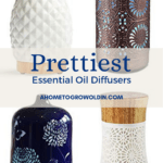 the best modern and pretty essential oil diffusers