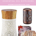 stylish small capacity essential oil diffusers