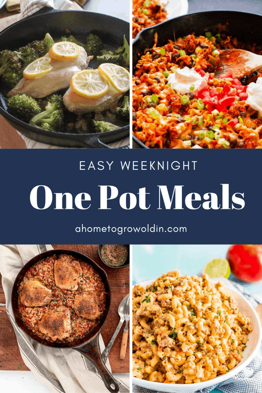 easy one pot meals