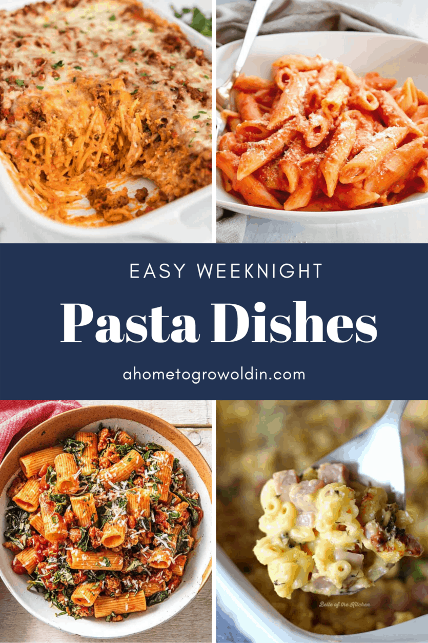 easy weeknight pasta dishes