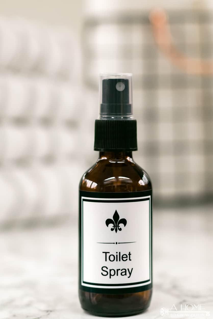 2 oz essential oil diy toilet spray bottle
