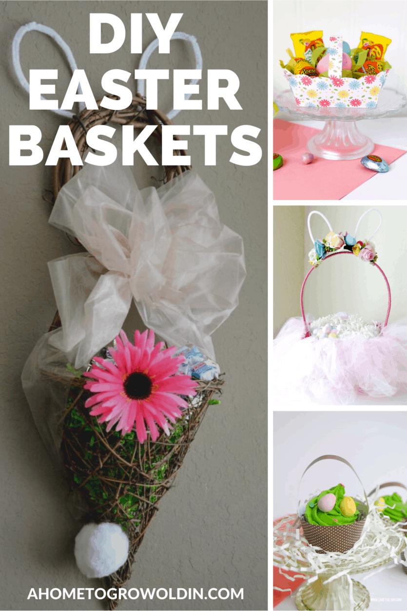DIY Easter basket crafts