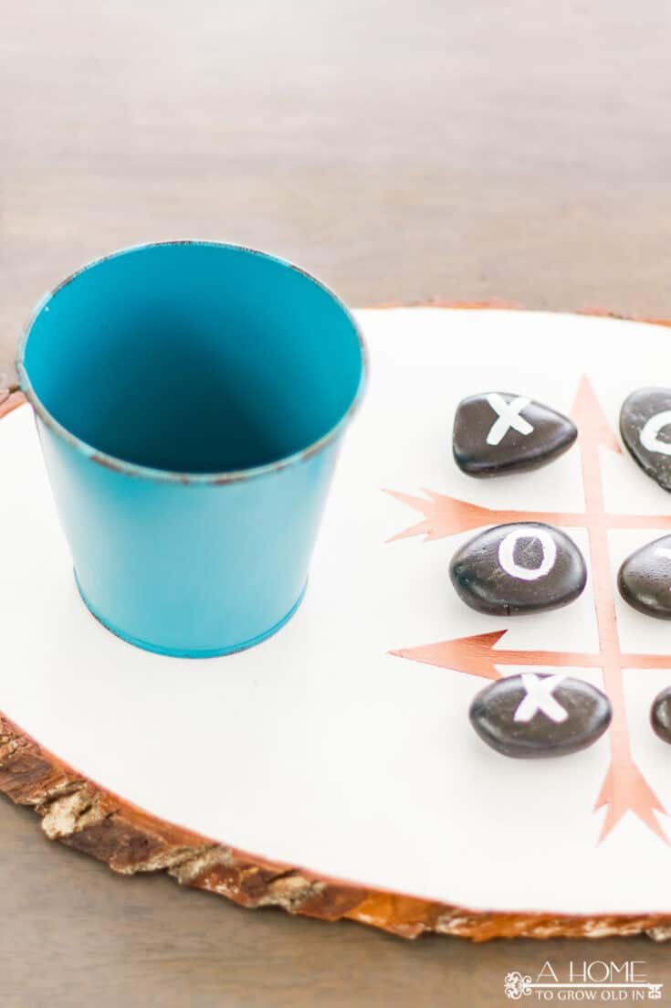 DIY Outdoor Tic Tac Toe Board Game