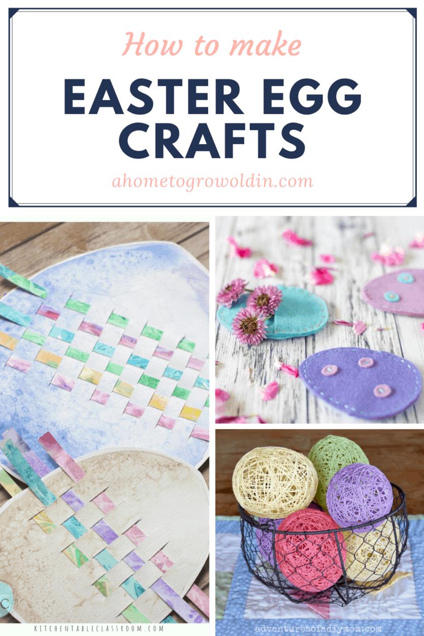 DIY Easter egg crafts