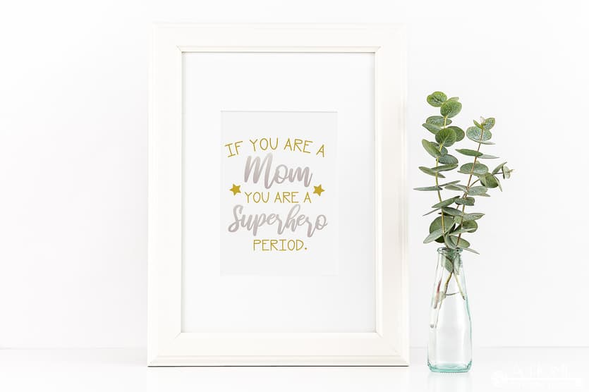 Inspirational Superhero Mom Svg File A Home To Grow Old In