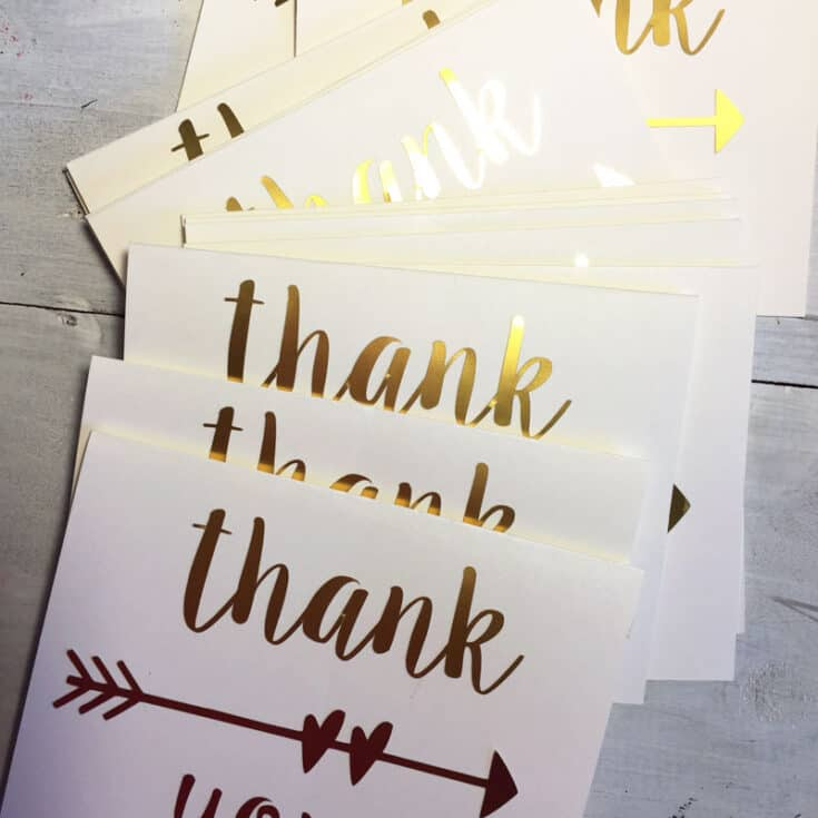 DIY Thank You Cards
