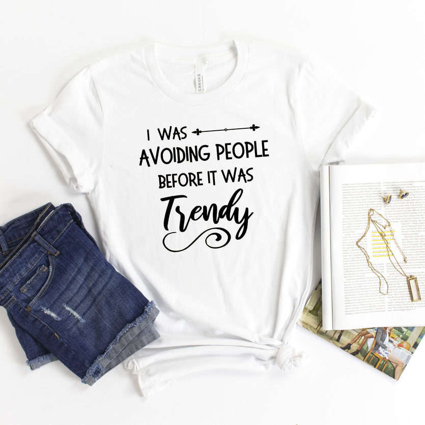avoiding people quote t-shirt free svg file cut with a silhouette or cricut