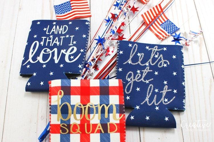 Hand-lettered Patriotic SVG files