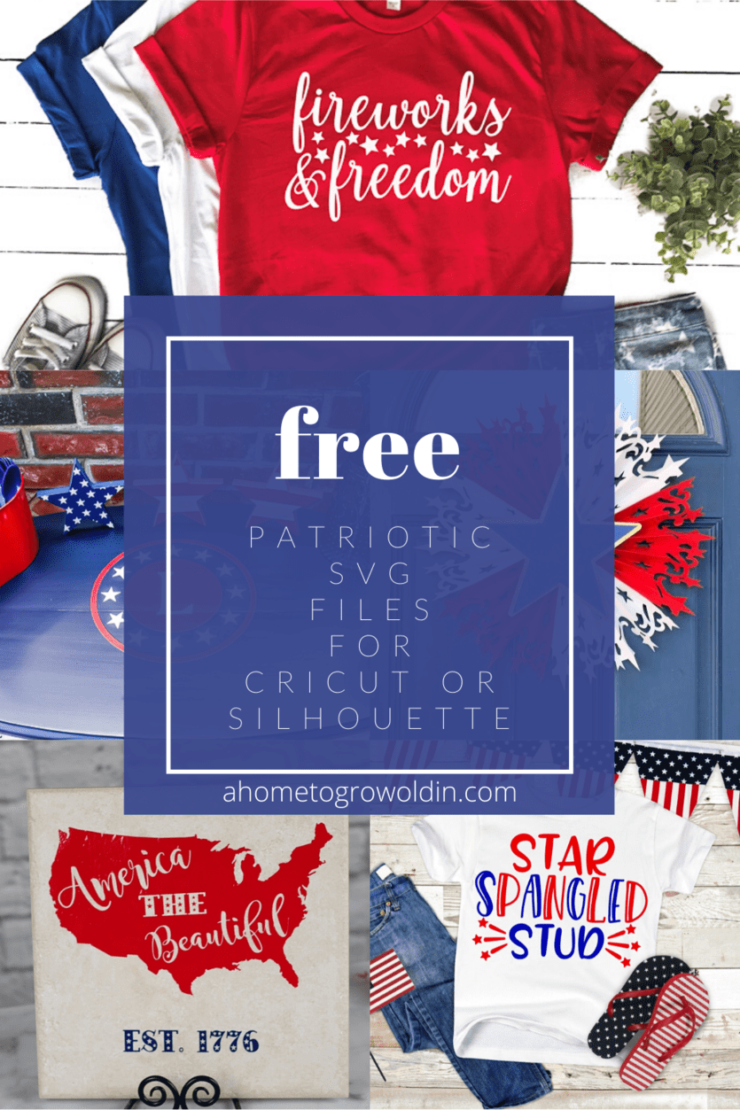 13+ patriotic svg files for the 4th of july or memorial day