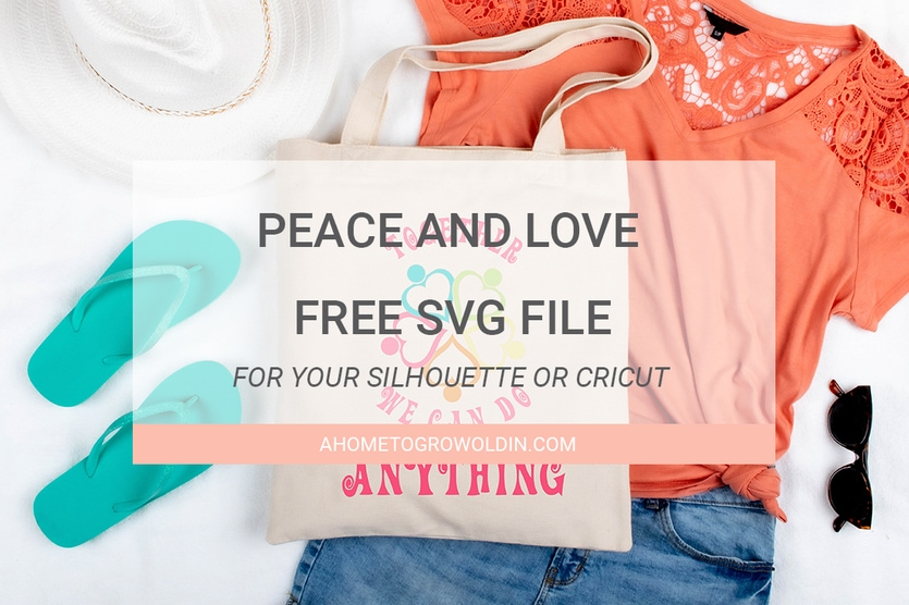 Download 'Together We Can Do Anything': Free Peace and Love SVG » A ...